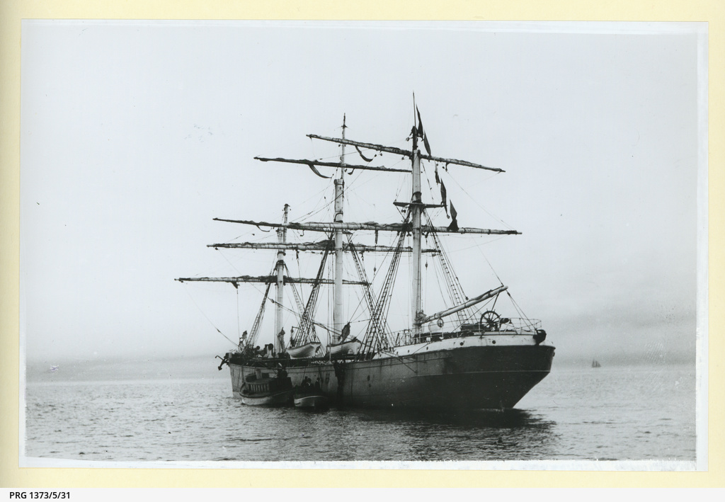 The 'Flintshire' in an unidentified harbour