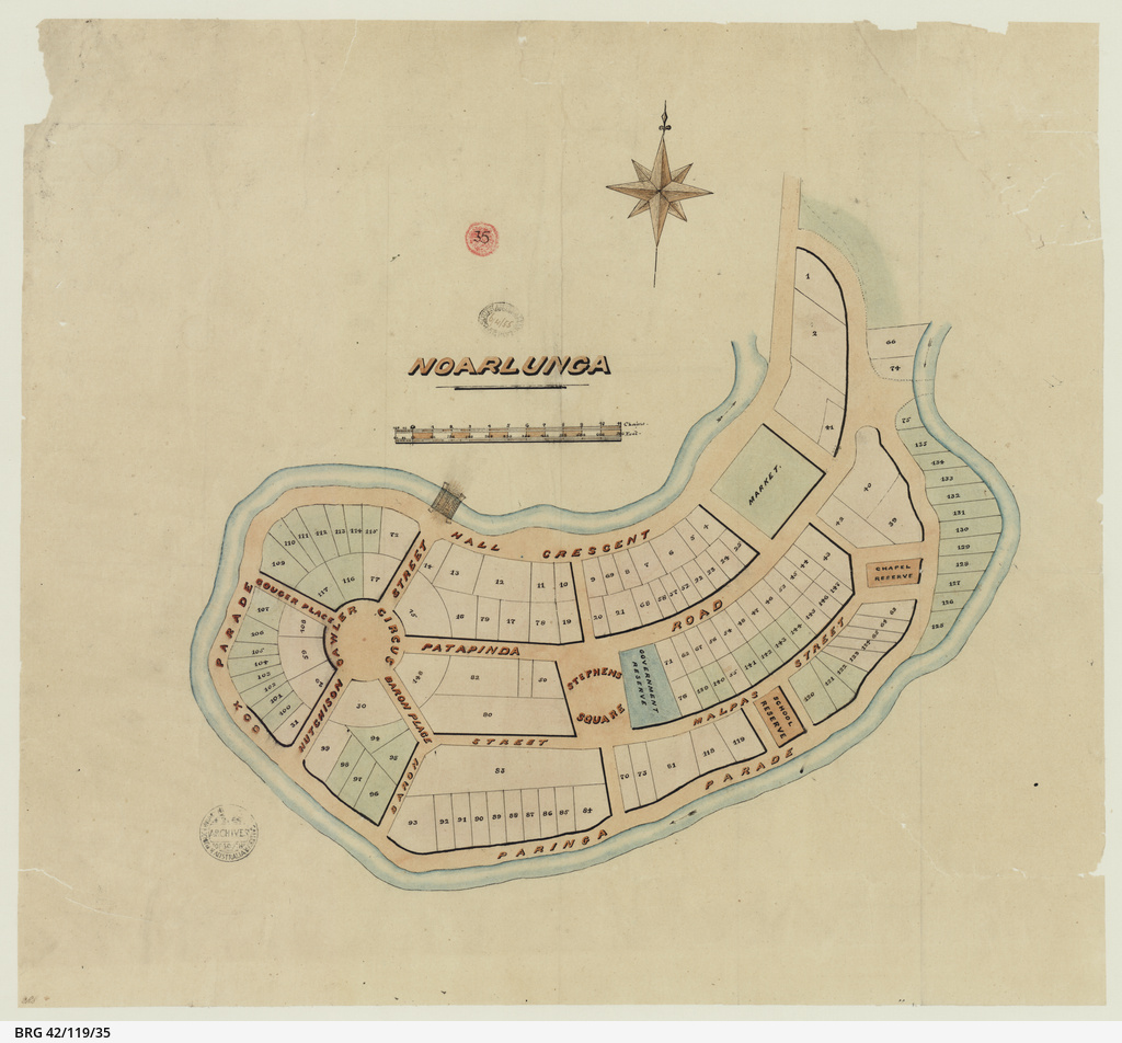 [Plan of Noarlunga] [cartographic material]
