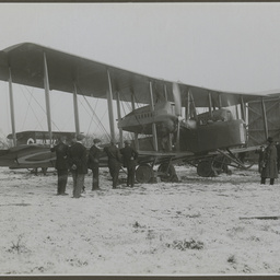 Vickers Vimy at Hounslow.