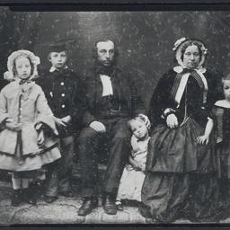 Arthur Hardy and family