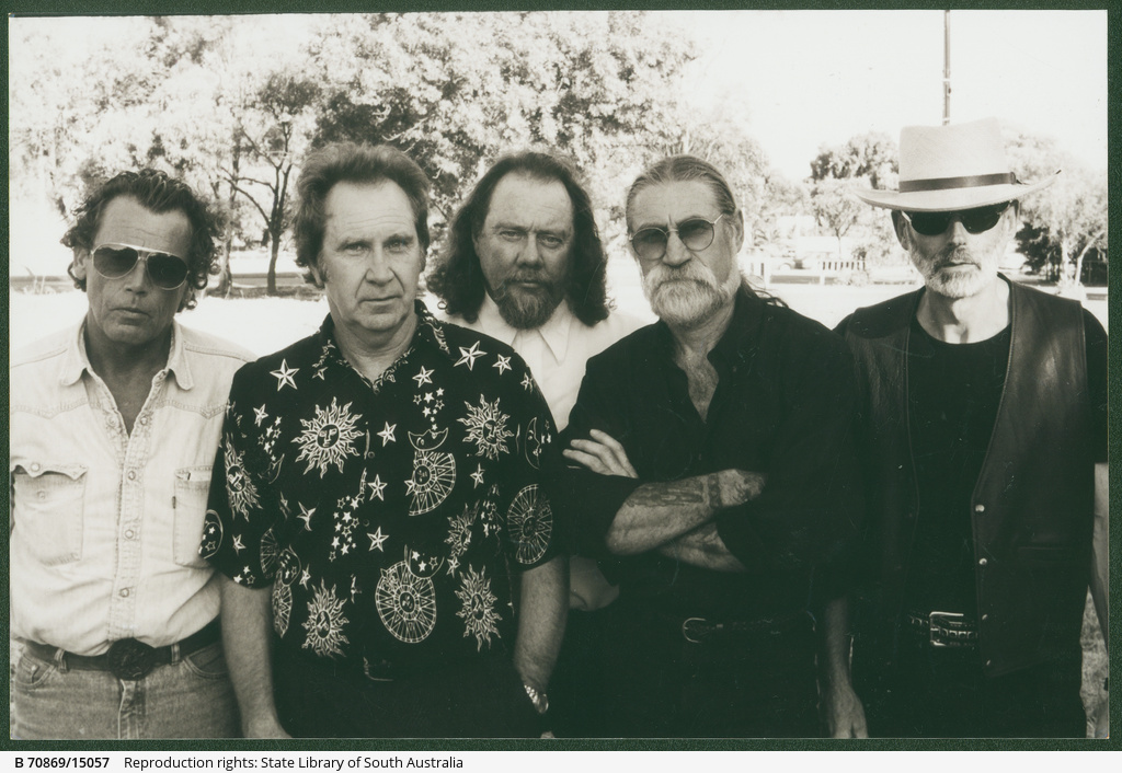 """""""The Others"""", (left to right) Russ Johnson, Ian Nancarrow, Pete Smith, Jeff Gurr and Scott Todd."""