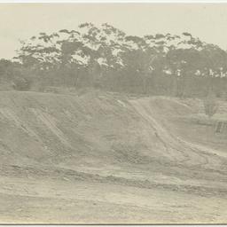 Enlarging the main reservoir on Wittunga farm