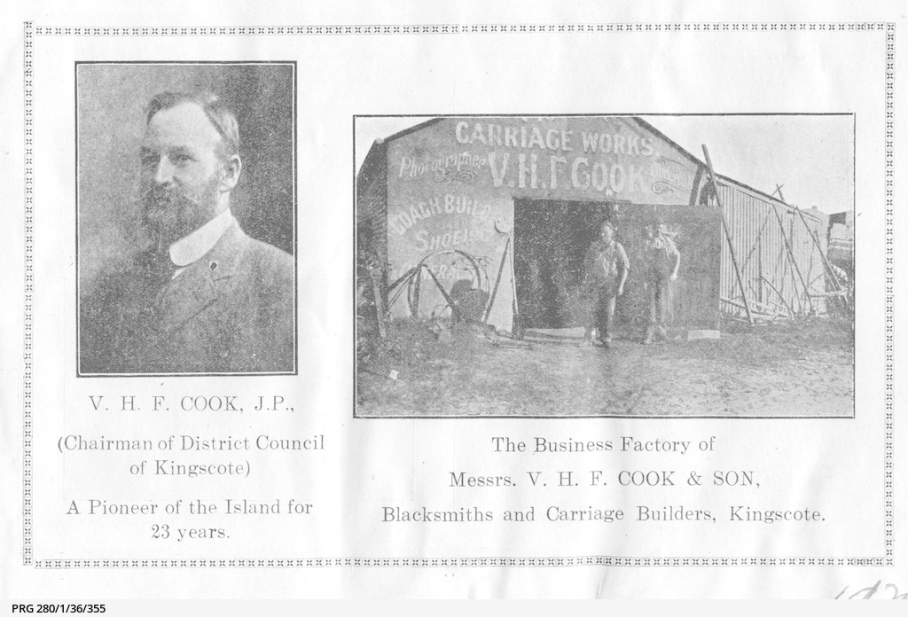V. H. F. Cook and Son