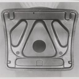 Trunk [boot] door inner panel.