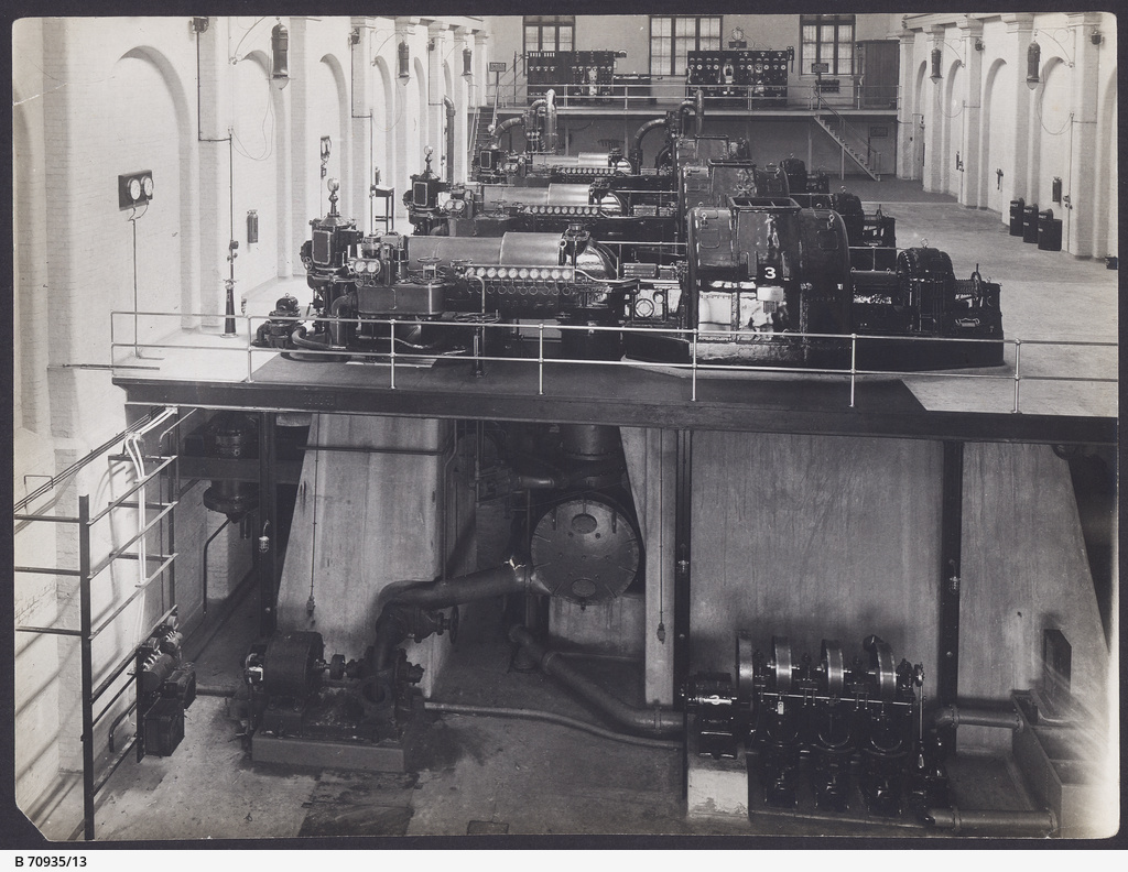 Generators at the Port Adelaide MTT power station