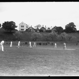 Schoolboys' cricket match