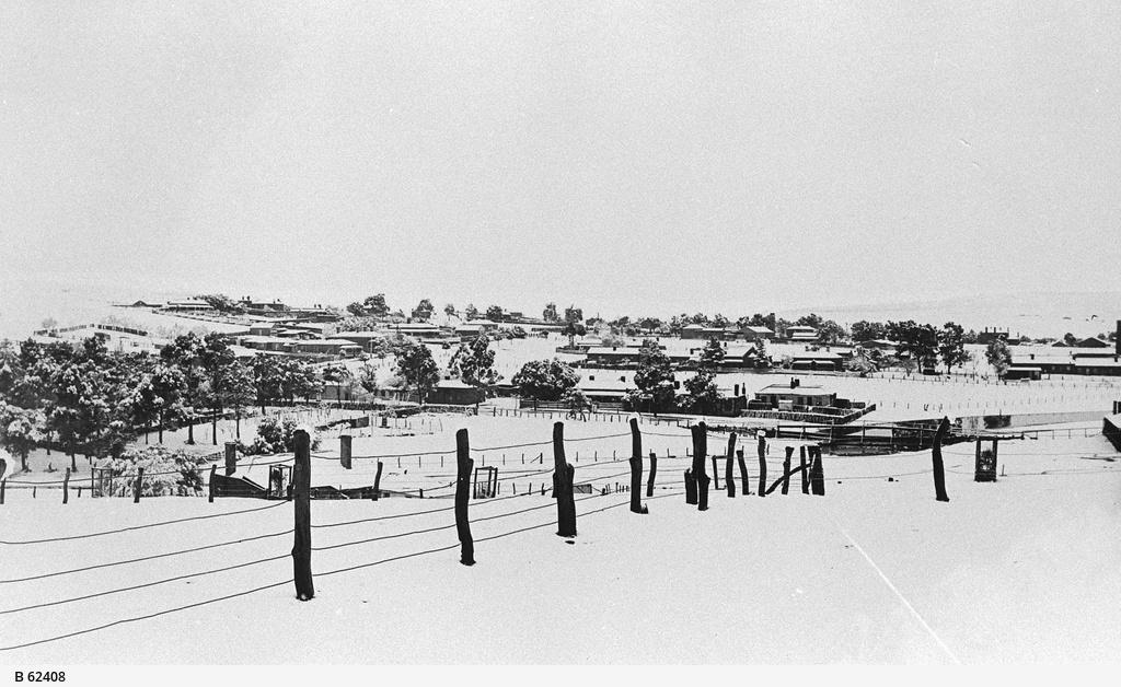 Snow at Burra