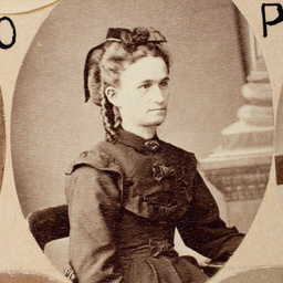 Group of [women] Old Colonists : Mary Ann Strong