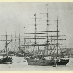 The 'Yatala' at Port Adelaide