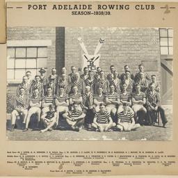 Port Adelaide Rowing Club 1938 to 1939 season