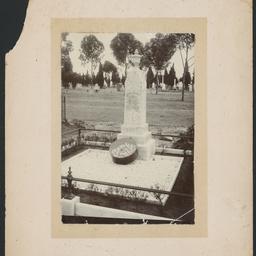 Charles White's grave
