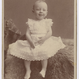 Portrait of Ross Smith as a baby
