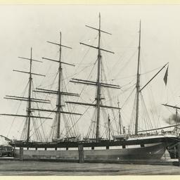 The 'Loch Moidart' in an unidentified port