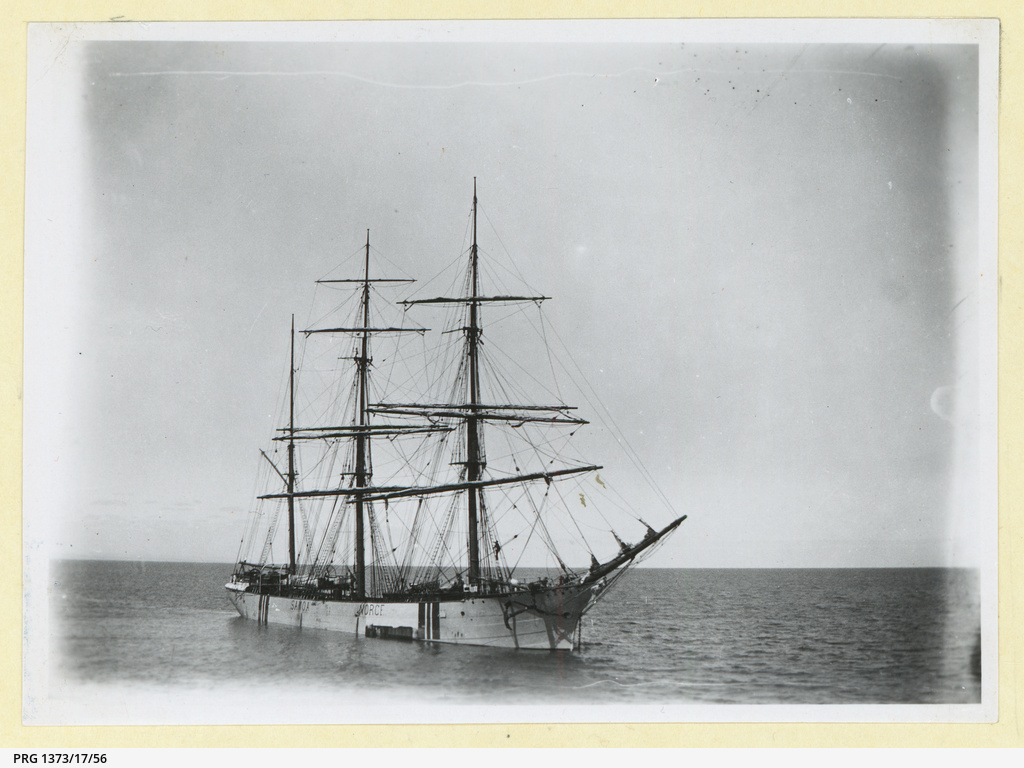 The 'Samoa' at anchor