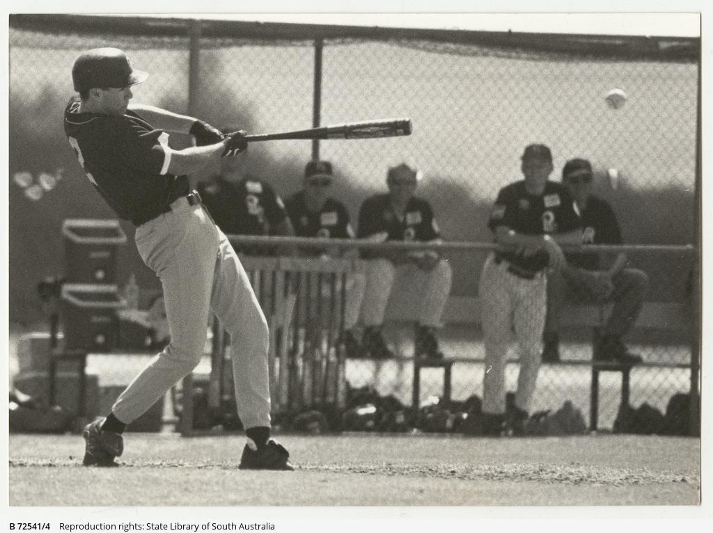 Photographs relating to baseball team Glenelg Tigers