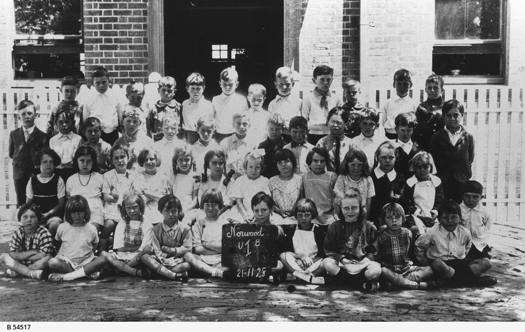 Students from Norwood Infant School