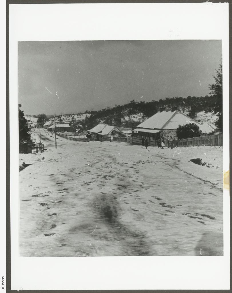 Snow at Lobethal