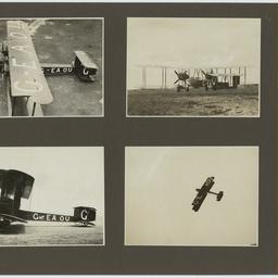 Photographs of inaugural England - Australia flight