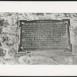 Memorial, Hindmarsh Island