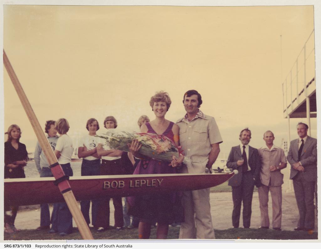 Christening the Racing Pair 'Bob Lepley'