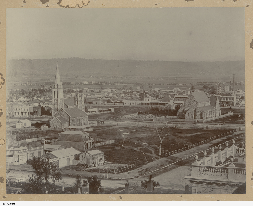 View over part of Adelaide