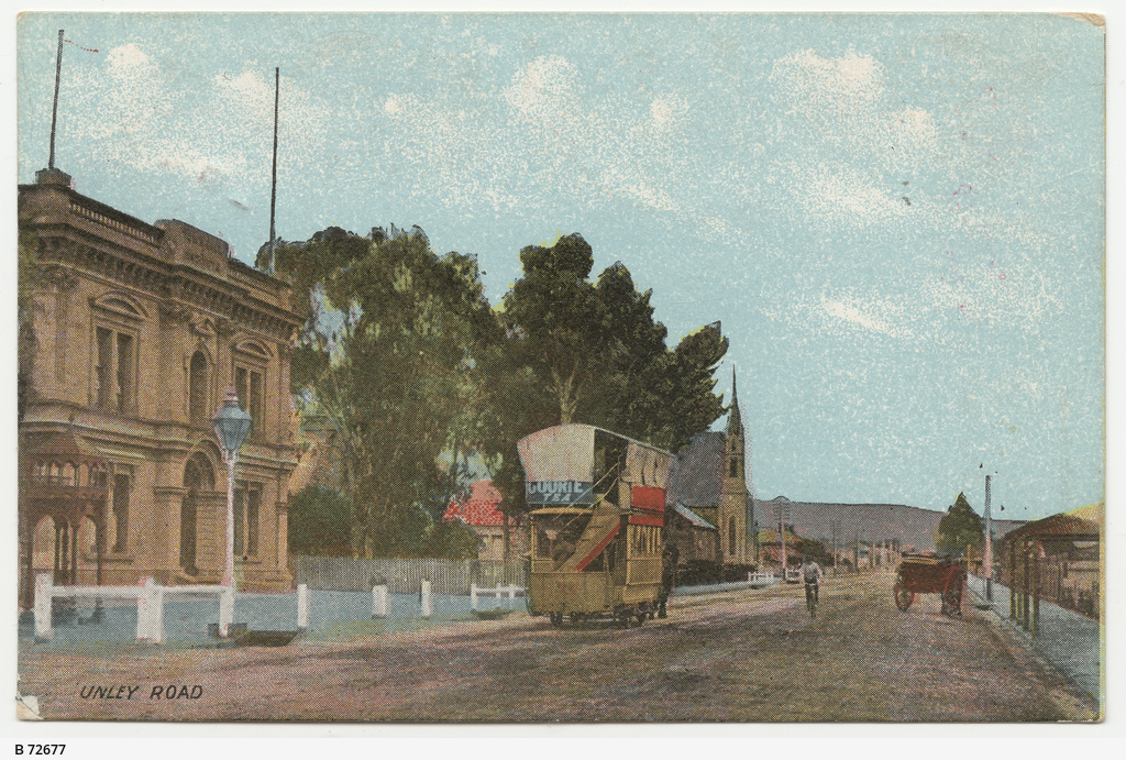 Image result for horse drawn trams Unley