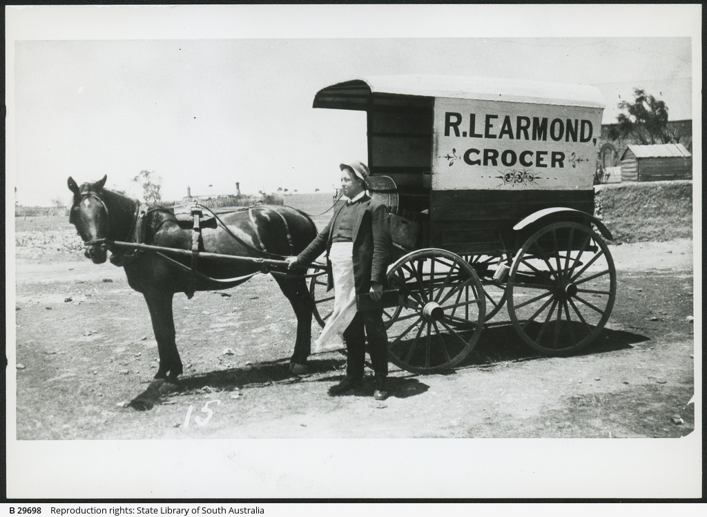 Grocer's Cart at Moonta