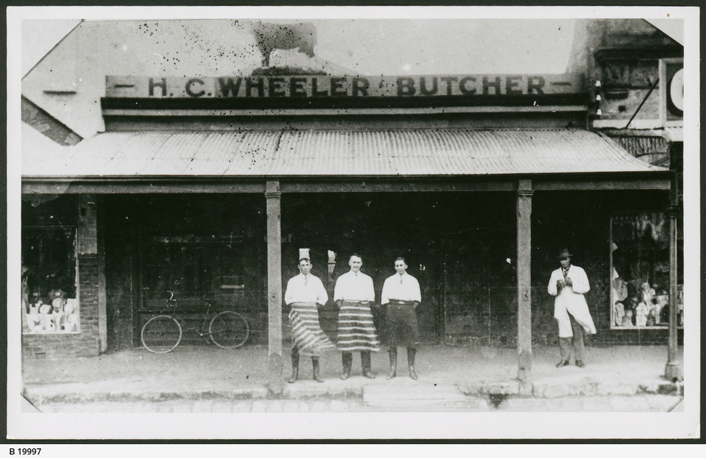Butcher's Shop, Mt.Gambier