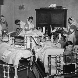 Ward scene at Adelaide Children's Hospital