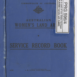 service record book for the awla manuscript state library of