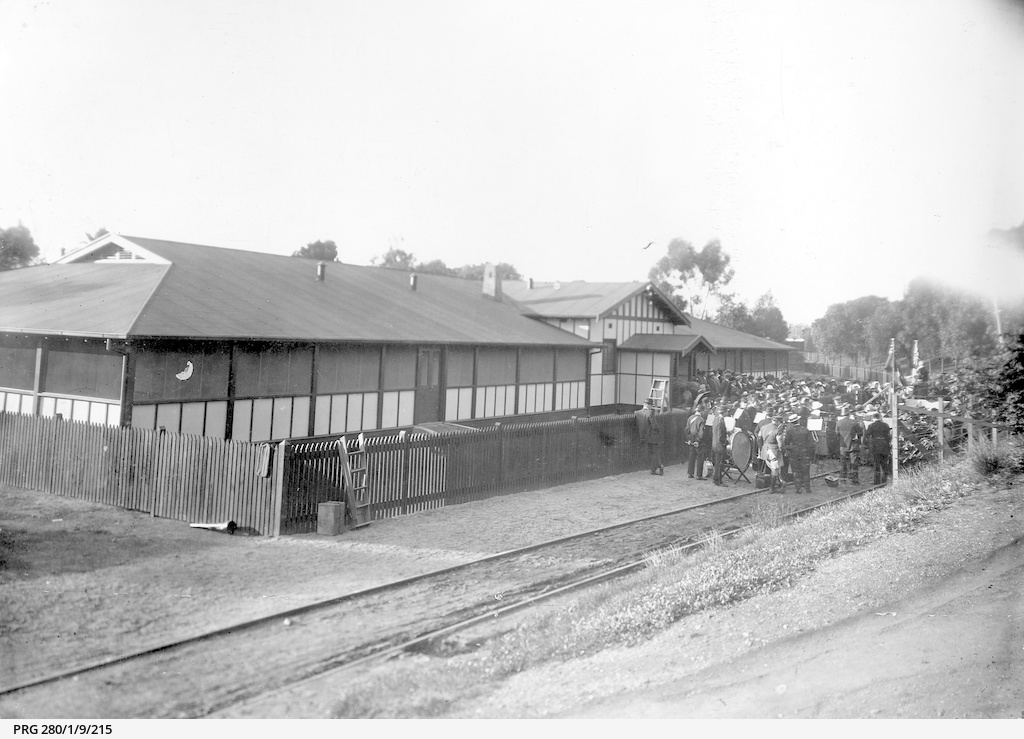Opening of the State War Council Soldiers' Hostel.