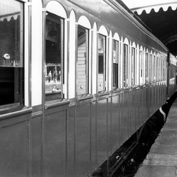 Centenary railway carriages