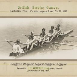British Empire Games, Australian Men's Coxed Four winners
