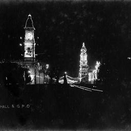 Town Hall and G.P.O