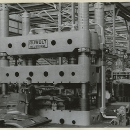 Production facilities at General Motors-Holden's Limited during
