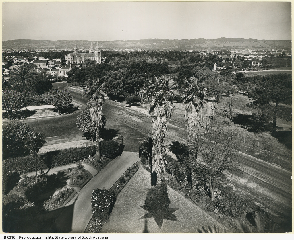 Adelaide From Montefiore Hill