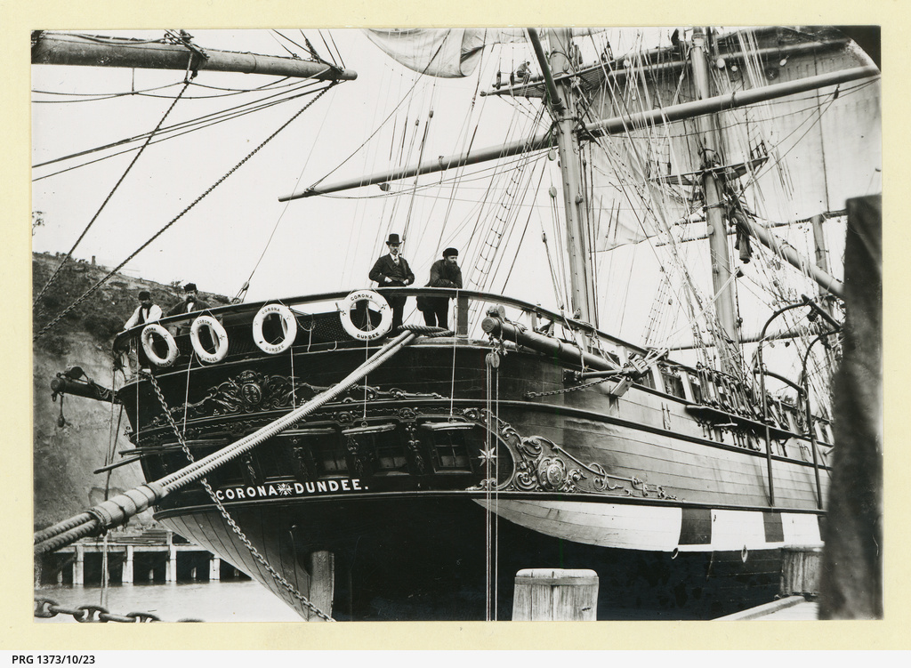 The 'Corona' at Port Chalmers, New Zealand