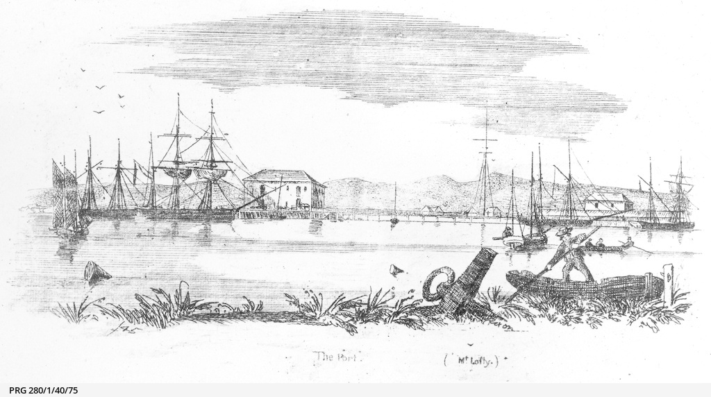 'The Port', a sketch of Port Adelaide