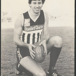Footballer John Harvey
