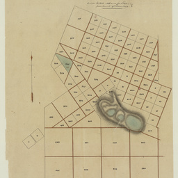 [Map showing section purchased at Mount Gambier] [cartographic material]