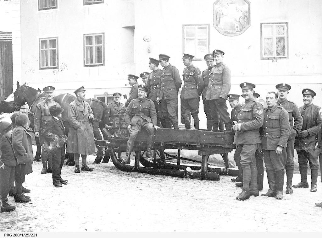 British soldiers during World War I