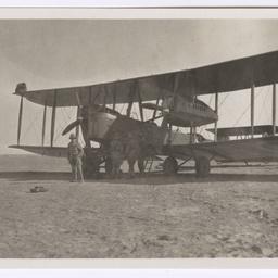 Vickers Vimy at Basra