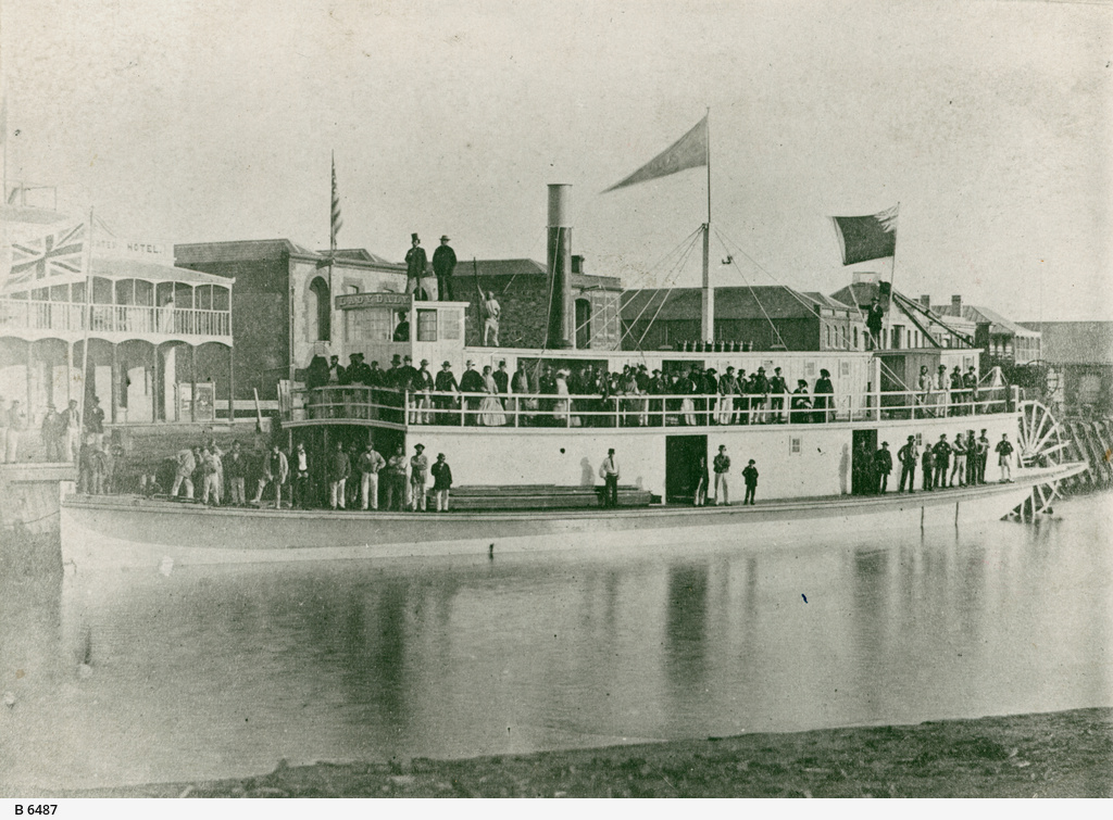 """The Lady Daly"", Steamer"