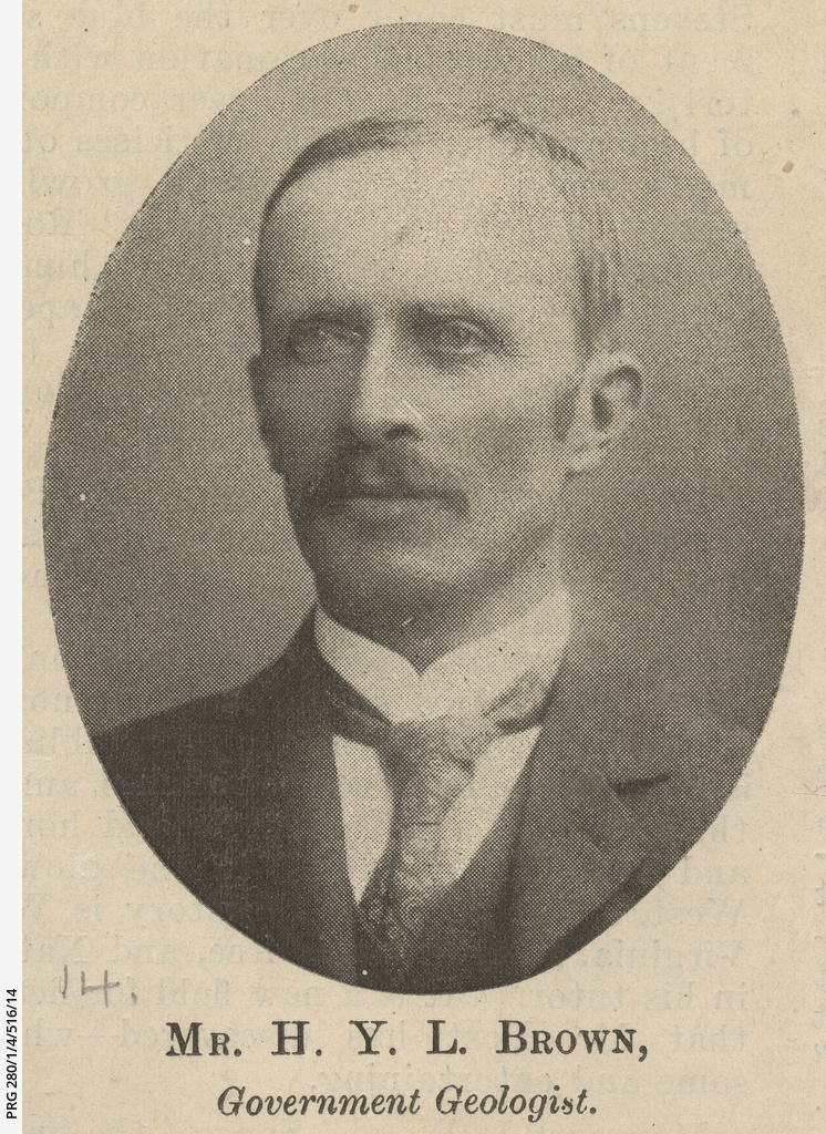 H. Y. L. Brown, Government Geologist