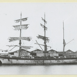 'James Craig' iron barque