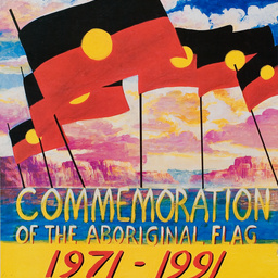 20 years commemoration of the Aboriginal flag : [poster]