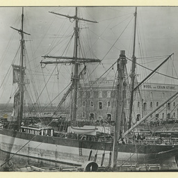 The 'Primera' in New Dock, Port Adelaide