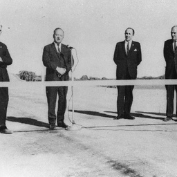 Opening of the Sellick's Hill section of the South Main Road