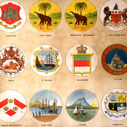 Emblems for British Dominions flags