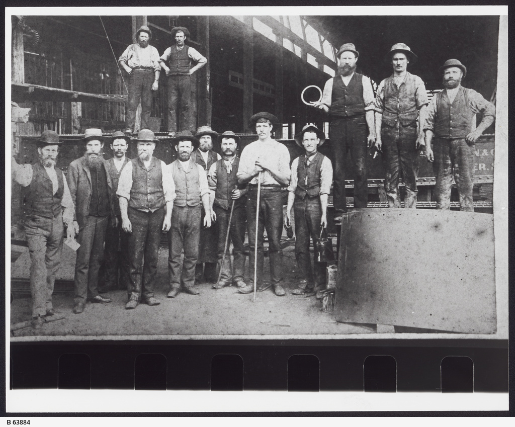 James Martin foundry employees, Gawler